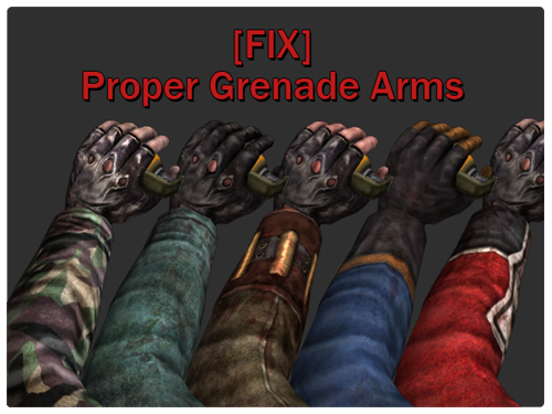 [MUTATOR/FIX] Proper Grenade Arms