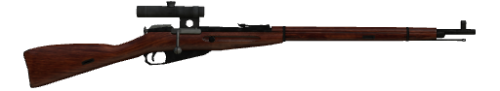 Винтовки Mosin Nagant, Scoped Nagant